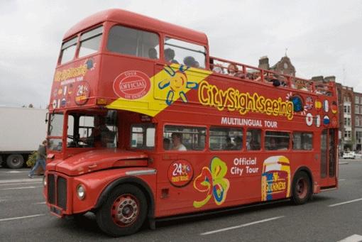 London City Tour Hop On Hop Off Bus