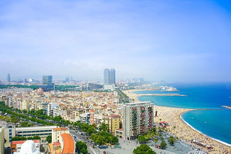 Strandurlaub in Barcelona