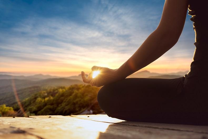 Entspannungstraining mit Yoga