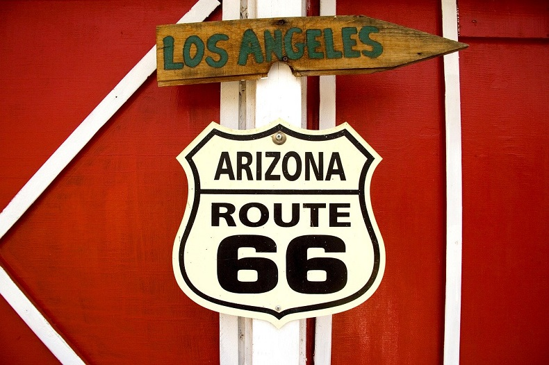 Route 66 - Bild von Falkenpost auf Pixabay