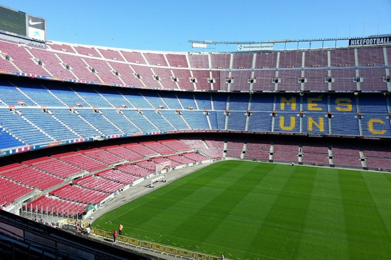 Das Camp Nou in Barcelona - Foto © Das Camp Nou in Barcelona