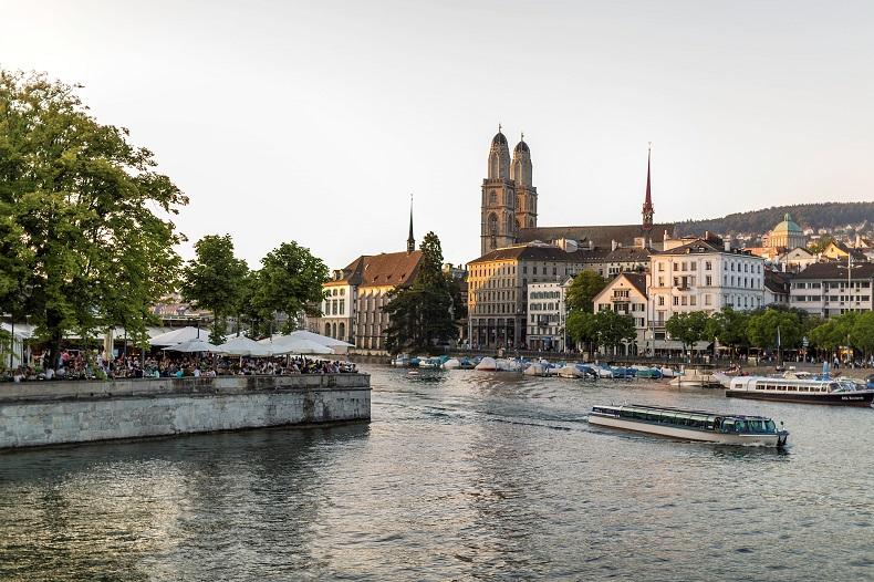 Zürich Panorama © Zürich Tourismus - Gaetan Bally