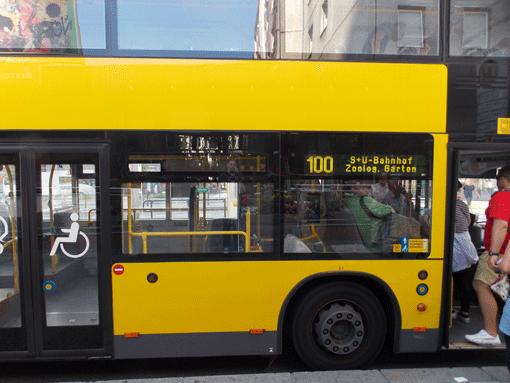 bus 100 und 200 der bvg berlin kostenlose. Black Bedroom Furniture Sets. Home Design Ideas